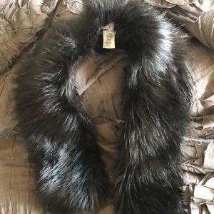 J crew faux fur